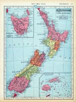 Page 121 - New Zealand, World Atlas 1911c from Minnesota State and County Survey Atlas